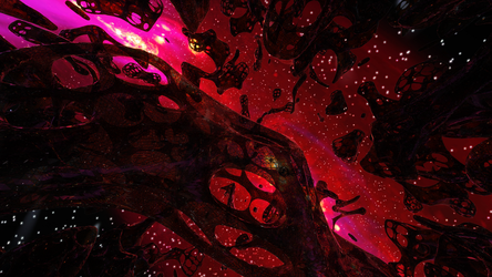 Zbrush Doodle: Day 1324 - Alien Megastructures by UnexpectedToy