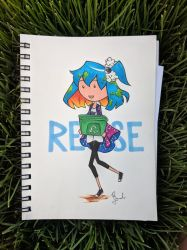 Happy Earth Day! Reuse! by flygirldavies