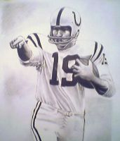 Johnny Unitas by troydodd