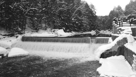 McConnel's Mills falls and mill by BealsonWheels327