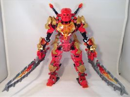 Tahu, Master of Fire (2.0 version) by MrBoltTron