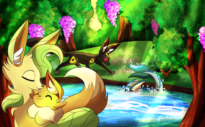 [Contest Entry] Aroma Forest! (updated) by frostlie
