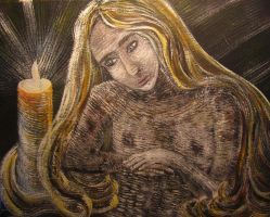 Veltina In The Candlelight by juliarita