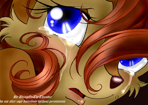 Sally's Tear's, version 2 by KissTheThunder
