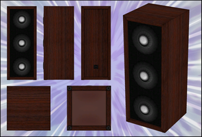 Speaker Model - for ComiPo! by Metalraptor