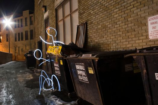 Dumpster Divers by Andersi3