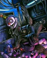 Welcome to the cemetery / Ennard FNaF SL by Mizuki-T-A