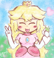 Peachy Peace by Kapus49