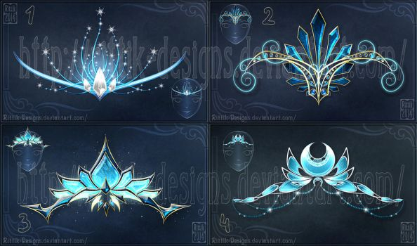 Diadems adopts 5 (CLOSED) Winter set! by Rittik-Designs