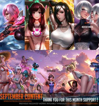 September Content complete ! by Liang-Xing