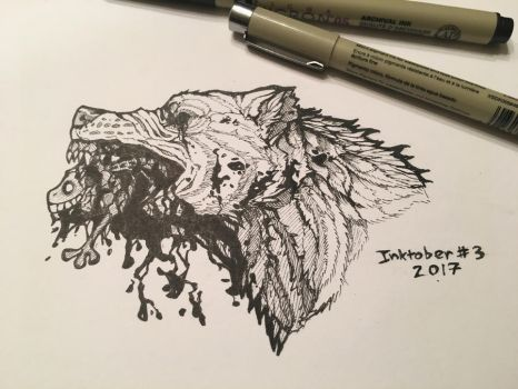 Inktober Poison by Inkswell