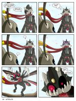 Page 38 - Afterlife - Suzumega Medabot 2 by AltairSky