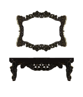 Frame and Shelf png by mysticmorning