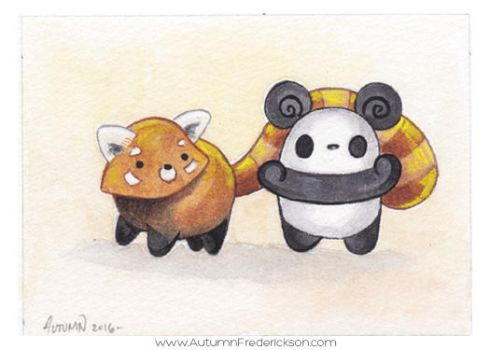 Pocket Pandas - Warm and Fuzzy by PocketPandasArt