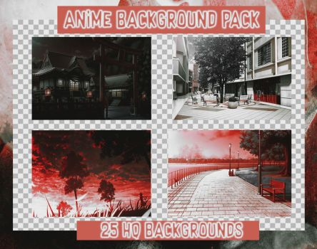 Anime Background Pack by toneyteee