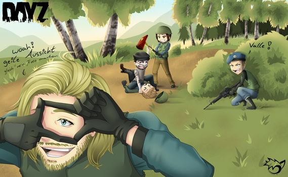 .: Let's Play DayZ! :. by CaptainPinsel