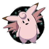 036 - Clefable by steven-andrew