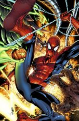 Spider-man vs Sinister Six part 2 by spidey0318
