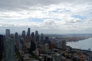 Seattle Downtown2 by Trisaw1