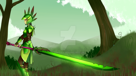 Blade of Grass by Suweeka