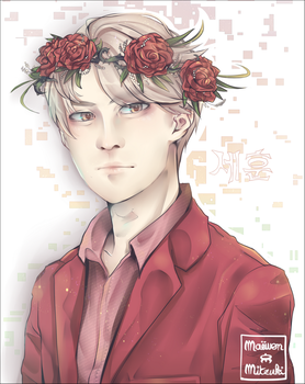 Sehun - LOVE ME RIGHT_ROMANTIC UNIVERSE by MaewenMitzuki