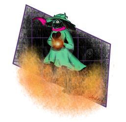 Adult Ralsei by Hedenus