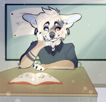 Daydreaming by Caffeyeen