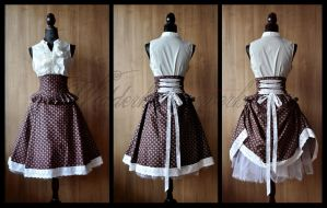 Tea Party Skirt. for sale on EBAY! by chac-chac