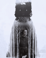 winter is coming stark by tepidly