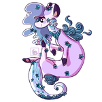(G) (Redesign OFFICIAL) Giggling Jade by Emily-Lavender