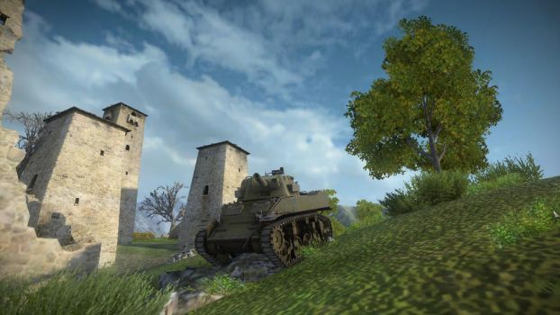 World of Tanks: The quickfingered sharpshooter by Thedragon1998