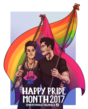 Malec Pride by spider999now