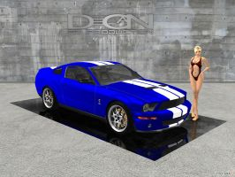 2011 Ford Mustang GT500 by DecanAndersen