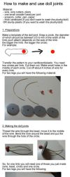 Doll Joints Tutorial by MarlinGrey