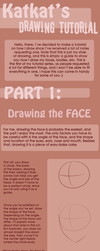 Drawing Tutorial - Face by Katkat-Tan