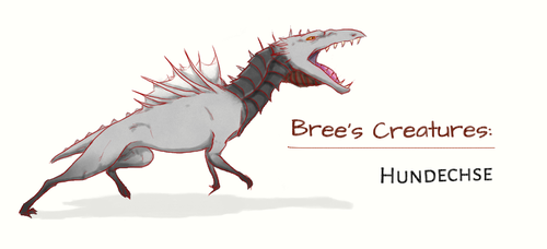 Bree's Creatures: Hundechse by nightwindwolf95