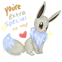 Shiny Eevee Valentine by Ambunny