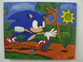 Sonic: Emerald Chase by distroya