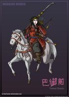 Warrior Women: Tomoe Gozen by Hunter-Wolf