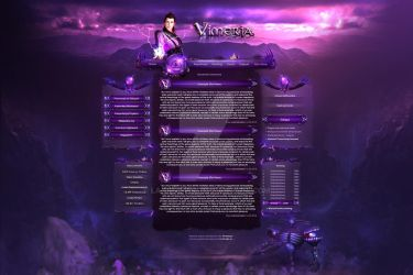 Vimeria - MMORPG DARK DESIGN BY LA-GRAPHIC by LA-Graphic