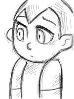 Astro Boy Sketch by veeeester400