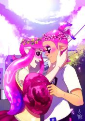 Cherry Blossoms Ship by TamarinFrog