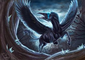 Feathered Nightmare by Dalgeor