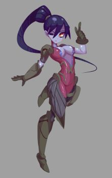 Commission - Widowmaker W/O Hat by TopDylan