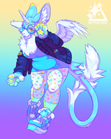 Skyantelope Fullbody by skyemachine