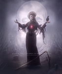 Special Halloween: The Harvester of Souls. by CrisestepArt