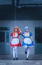 Evangelion Maids by Rinaca-Cosplay