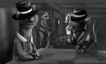 The Kid of Whisker Whiskies by AceSquirrel