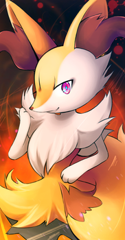 Braixen by Ettelle