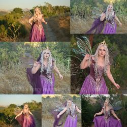 Thistle Fairy Queen Stock Photos (Aynia Wings) by FaeryAzarelle